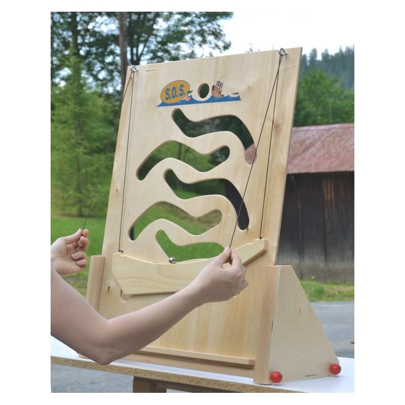 Jeu de kermesse en bois d 39 habilet de la gamme multid fis une s lection bec et croc - Fabriquer jeu de societe ...
