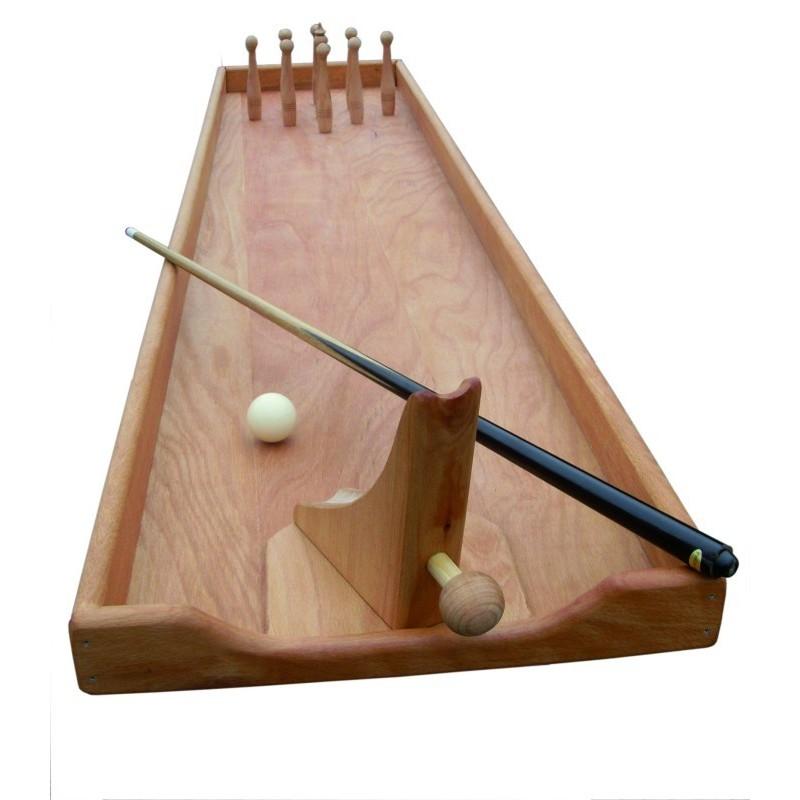 Jeu billard bowling en bois jeu g ant d 39 adresse original for Construction en bois toulouse