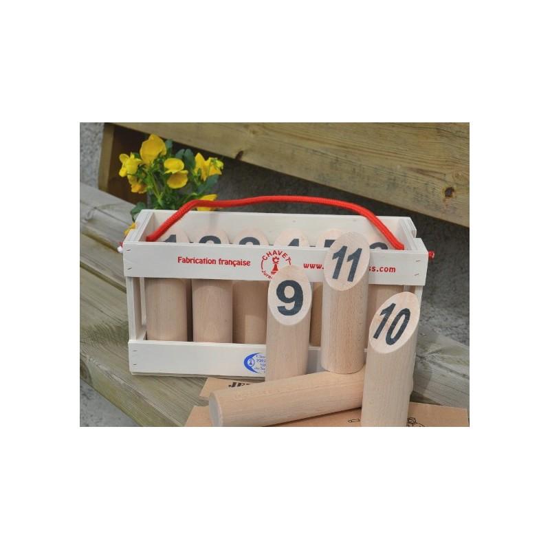 Quilles finlandaises fabrication fran aise achat de jeu for Piscine bois fabrication francaise