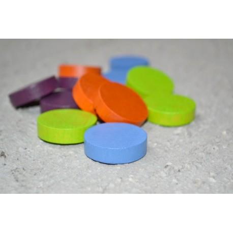 Lot 12 palets (3cm) 4 couleurs