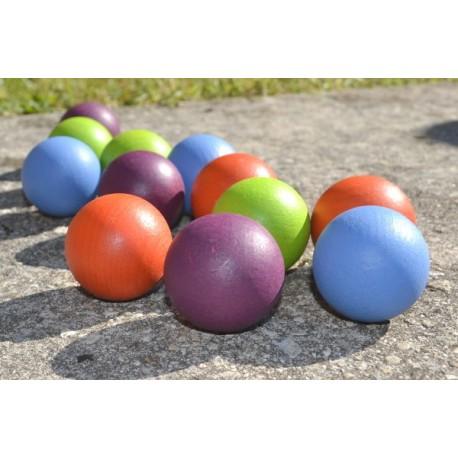 Kit 12 boules 4 couleurs