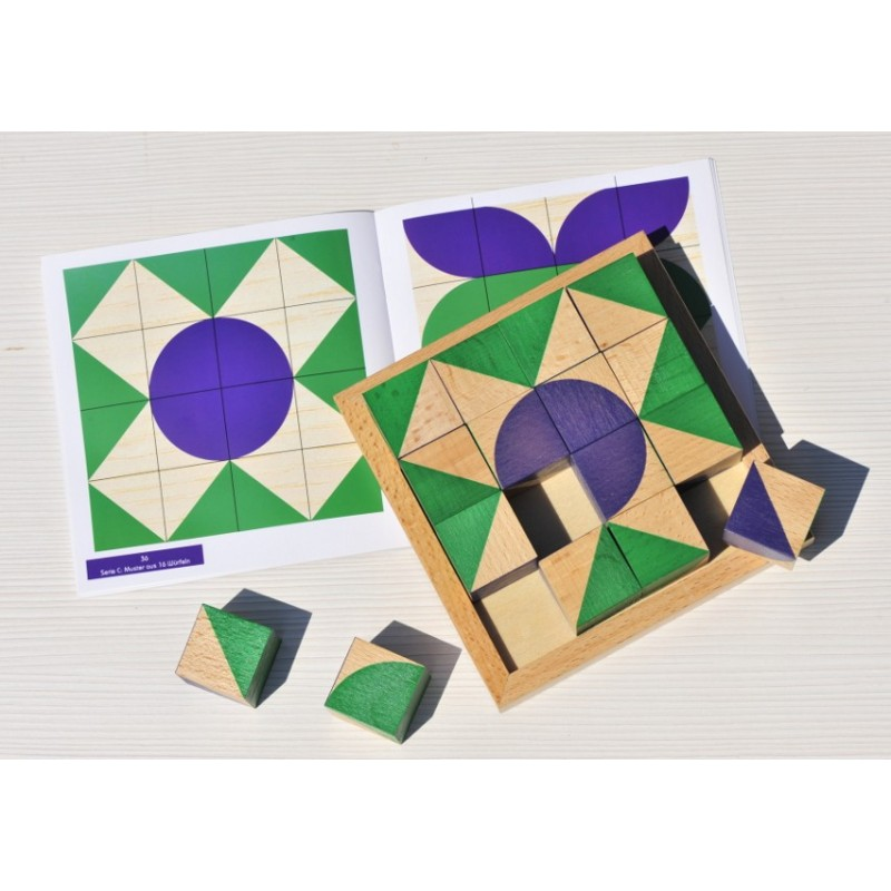 Jakolino jeu de cubes