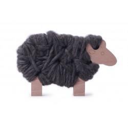 Woody mouton gris