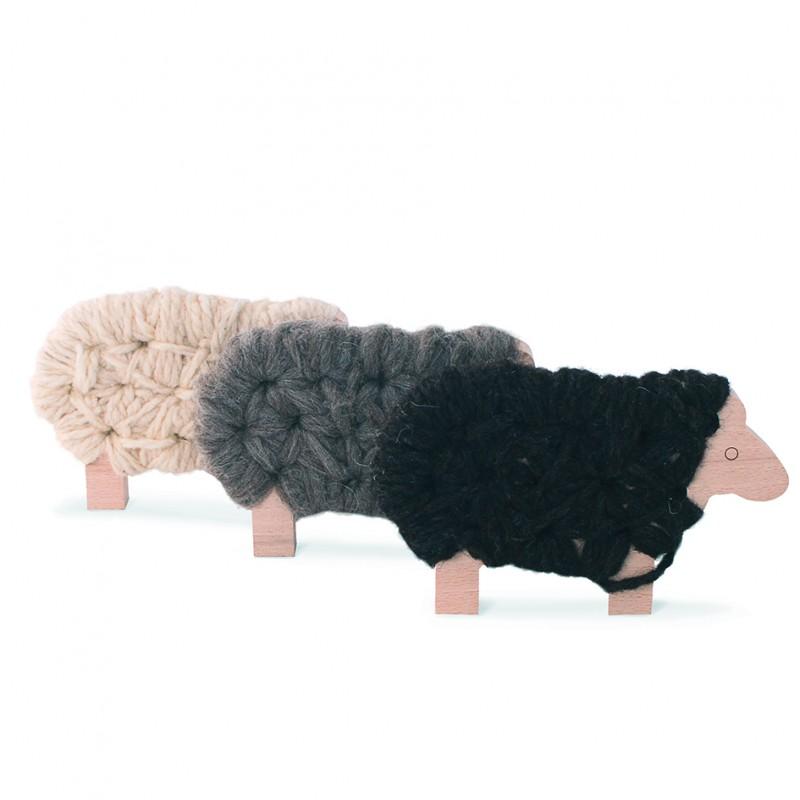 Lot de 3 Woody le mouton