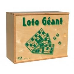 Loto Géant bois coffret complet 12 cartes