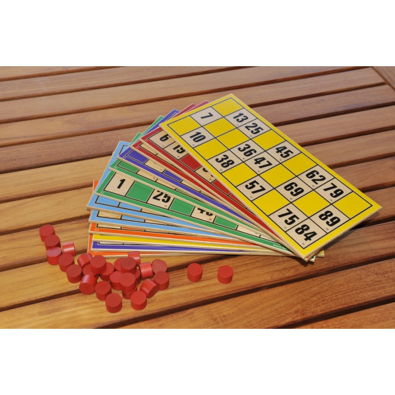 Loto Géant lot de 12 cartes