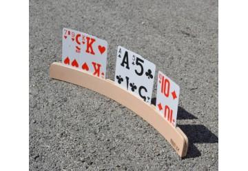Support de cartes à jouer arrondi 35 cm
