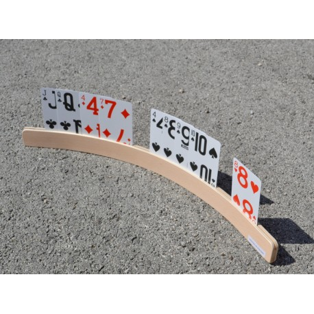 Support de cartes arrondi 50cm