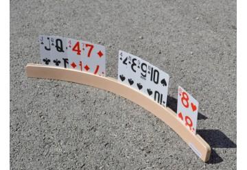 Support de cartes à jouer arrondi 50 cm