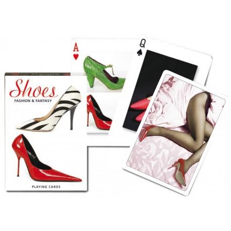 Jeux de 54 cartes sur le th me des chaussures de mode taille classique des cartes et - Jeux de decoration de chaussure ...