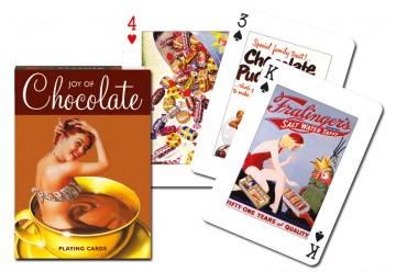 Jeux de 54 cartes anciennes affiches de chocolat