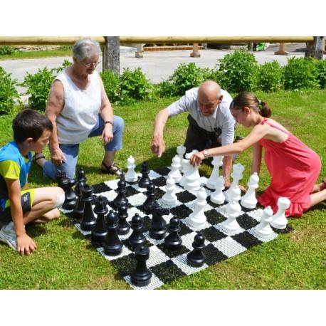 Pions d'échecs GEANTS (roi 28 cm)
