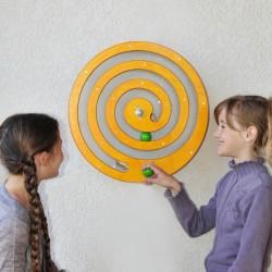 L'Escargot roue en bois perpétuelle