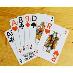2 jeux de cartes classiques vision +