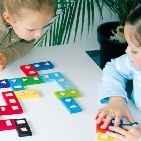 Dominos tactiles des formes