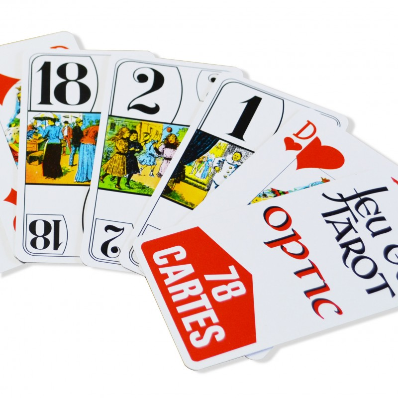 Jeu de tarot ultra lisible optic pour personnes agées jeux de cartes ... e0e2bd09a530
