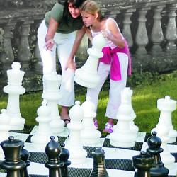Pions d'échecs xl hauteur 43 cm