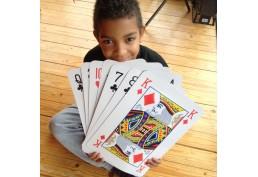 Jeu de 54 cartes XXL