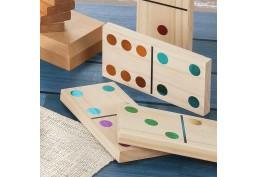 Dominos géants couleurs