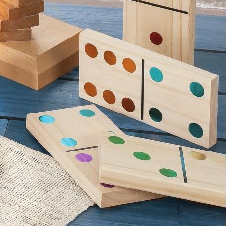 Dominos géants couleurs (15 cm)