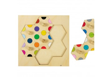 Hexagones boutons