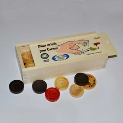 Lot complet de pions de Carrom