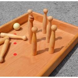 Billard-Bowling en bois