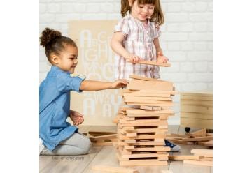 XXL Brixx jeu de construction en bois