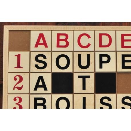 Kit mots croisés XXL (lettres 10x10 cm)