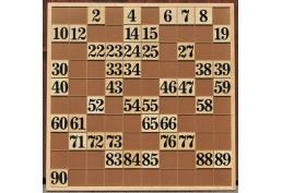 Tableau XXL de suivi pour le loto
