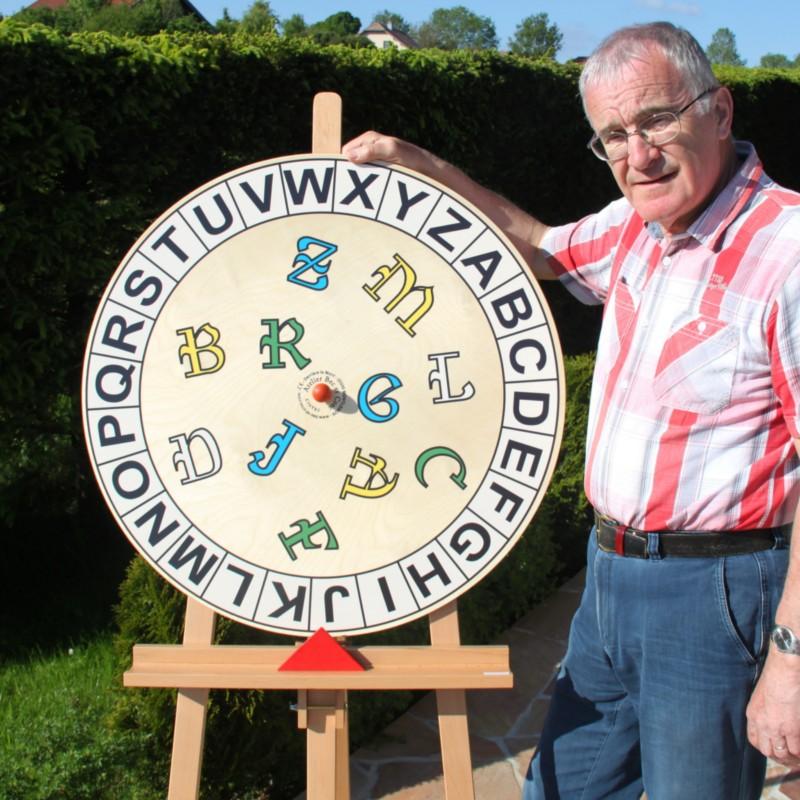 La roue des 26 lettres sans coffret
