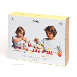 Piks construction 64 pièces
