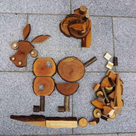 Ecoblocs création construction (68 pièces)