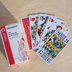 Jeu de 78 cartes de tarot officiel
