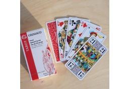 Jeu de 78 cartes de tarot fabrication française