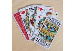 Jeu de carte à jouer de tarot de qualité