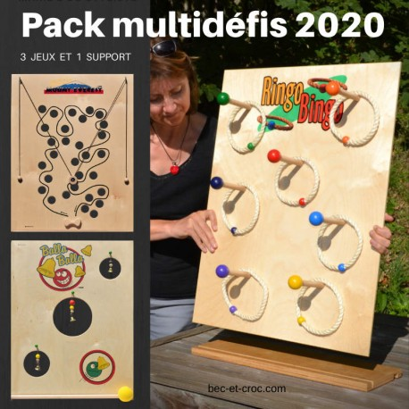 Pack multidéfis 2020