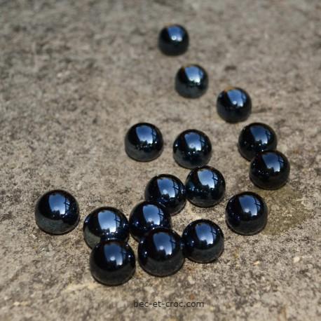 Kit 16 billes noires 1,6 cm