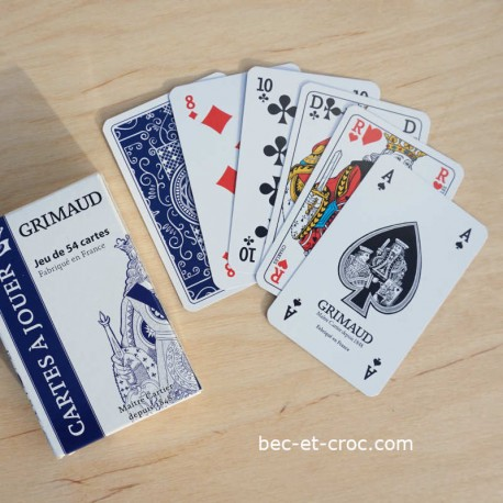 Jeu de 54 cartes (français)