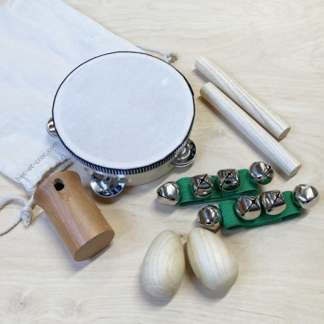 Pack de 8 instruments de musique