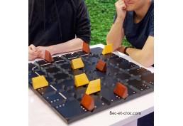 Squadro géant, jeu de société de stratégie en bois