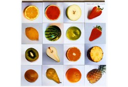 Mémo des fruits 16 plaquettes