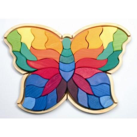 Mosaïque papillon géant