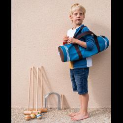 Croquet sac Junior en bois 4 joueurs (taille)