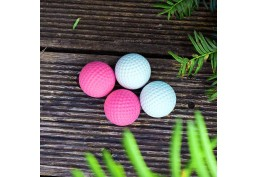 Lot de 4 véritable balles de golf de pro