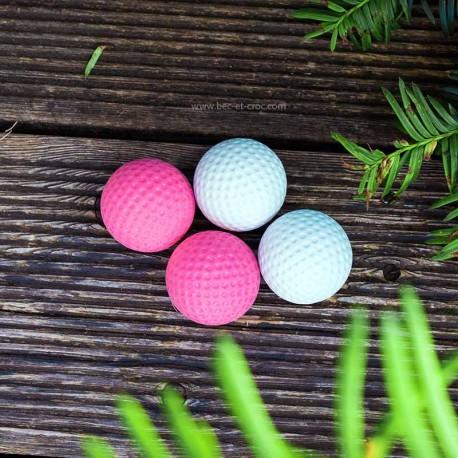 Lot de 4 balles de golf