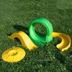 Lot de 4 obstacles de mini golf