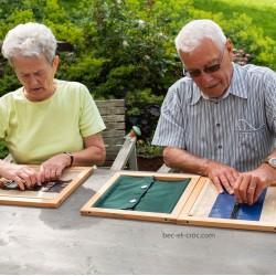 jeu de fermeture ouverture Montessori