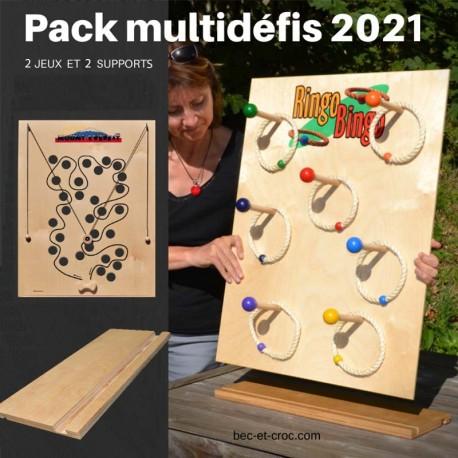 Pack multidéfis 2021