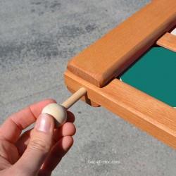 4 en ligne XXL : bâtonnet en bois